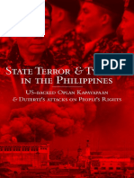 State Terror & Tyranny in the Philippines