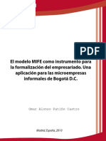El modelo MIFE