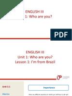 English 3- Unit 1-Lesson 1 (1)