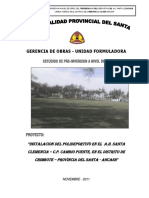 Perfil Polideportivo Doc