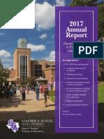 SFASU 2017 Education Doctoral Newsletter