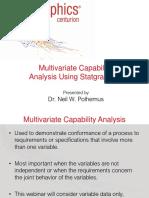 Multivariate Capability Analysis Webinar