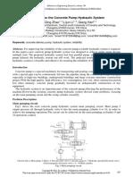 Concrete Pump Hydraulic Circuit