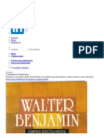 Walter Benjamin magia e tecnica