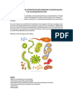 How to Choose the Appropiate Recombinant Microorganism for Your Bioproduction
