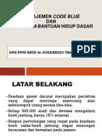 Code Blue Dan Algoritme Bhd