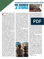 Articolo Nuova Armonia . Ispettore Bionico