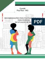Recomendação do ComitÊ População em Situação de Rua