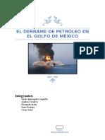 Monografia Derrame de Petroleo