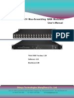 MSM628 16 CH Mux-Scrambling QAM Modulator User Manual (2)