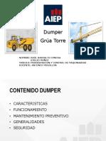 Maquinarias de construcción-Aiep