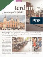 Ámsterdam y Su Transporte Público