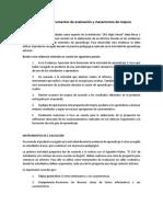 Evidencia - Instrumentos de Evaluación y Mecanismos de Mejora -William Gómez