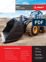 Sany Wheel-Loader SpecSheet 6-10-19