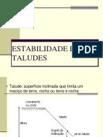 ESTABILIDADE+DE+TALUDES