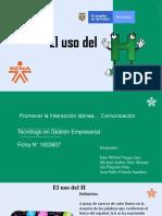 EL USO DE H.pptx