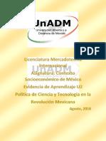 U2 EVIDENCIA DE APRENDIZAJE CONTEXTO SOCIOECONOMICO DE MEXICO.docx