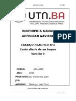 Tauterys_TP1_Actividad Naviera_Costo Diario de Un Buque