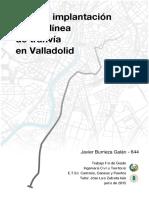 Plan de implementacion de una linea de trnavia en Valladolid.pdf