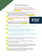 0. Checklist Berkas Pengajuan Beasiswa Lpdp PNS/TNI/POLRI