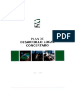 Plan de Desarrollo Local Concertado w