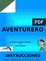 AVENTURERO-AHORRO