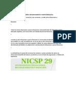 NICSP 29