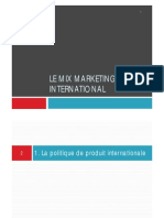 Marketing Mix International