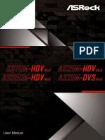 Manual de usuario - As Rock A320M-HDV R4.0