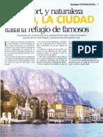 Como, la ciudad italiana refugio de famosos
