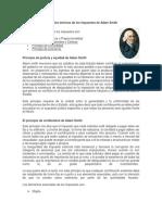 Principios Teóricos de Los Impuestos de Adam Smith