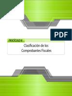 NCF 6. Clasificación de Los Comprobantes Fiscales