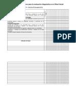 Instrumento Evaluación Diagnóstica 2019-2020