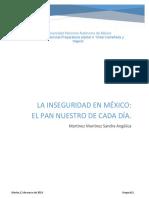 Sociología(Pobreza en México)