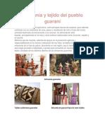 Artesanía y Tejido Del Pueblo Guaraní