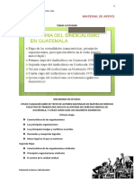 Material Historia Del Sindicalismo en Guatemala