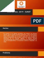 Informe 066 -2019 – SUNAT