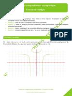 Limites Comportement Asymptotique Asymptote Horizontale Verticale Oblique
