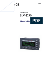 Kv d30 Manual