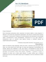 A Arte Da Palavra Literatura - Turma 2003