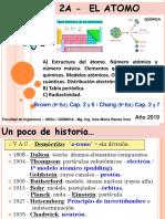 2019 _ Unidad 2a - Atomo