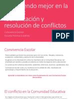 Conviviendo Mejor en La Escuela_Resolución de Conflictos