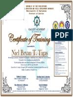 Nagtipuna Cert Training 2019 Bpp