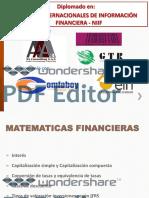 Matematicas Financieras y Flujos de Caja