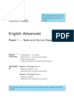 Sample Questions New Hsc English Adv Paper 1 Exam 2019