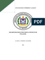 Guía Metodológica Titulación[2943]