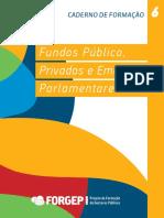 Caderno 6 Fundos Públicos Privados Forgep