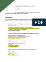 APLICACION DEL REGLAMENTO TECNICO PARA REDES INTERNAS DE TELECOMUNICACIONES semana 1