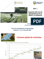 PPT 1 Impactos de Agroquimicos