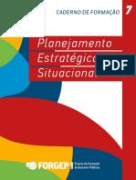 Caderno 7 Planejamento Estratégico Forgep
